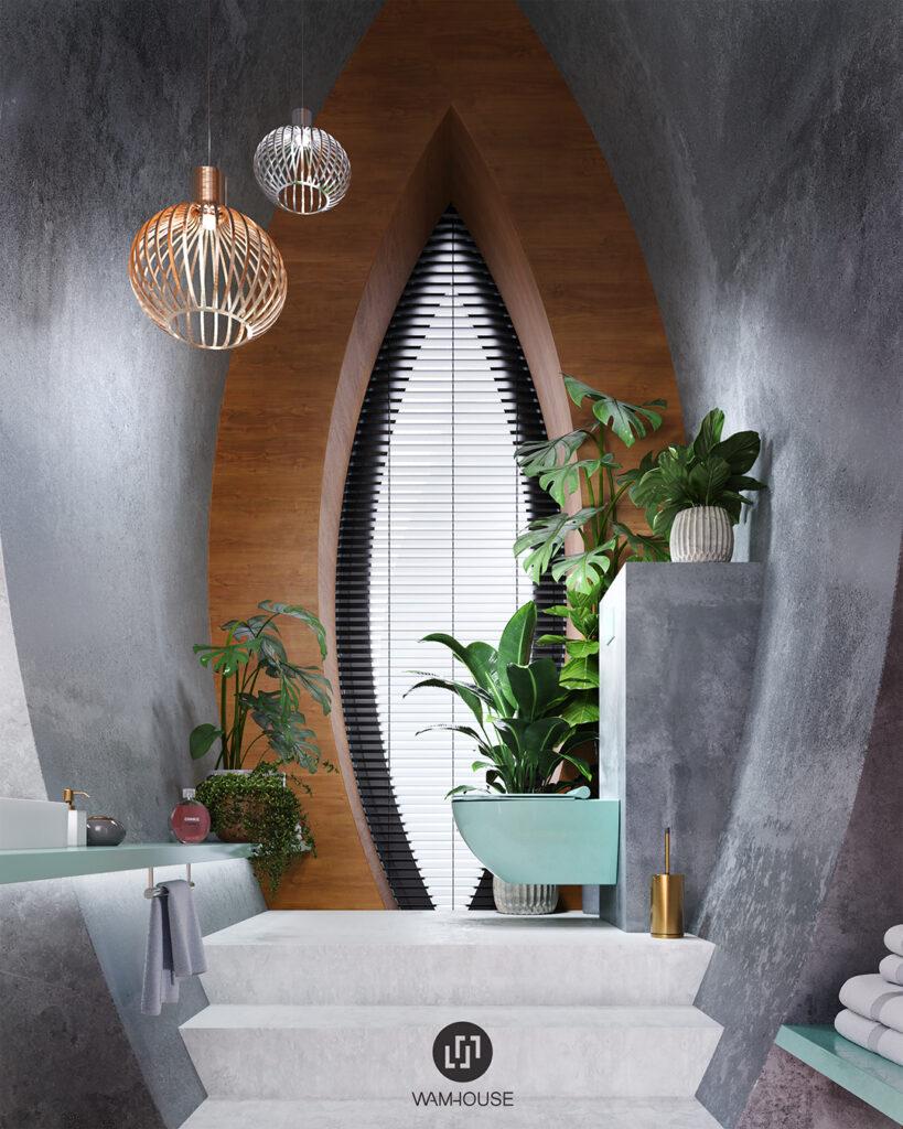 1- RINGSHOUSE – interior design (toilet)