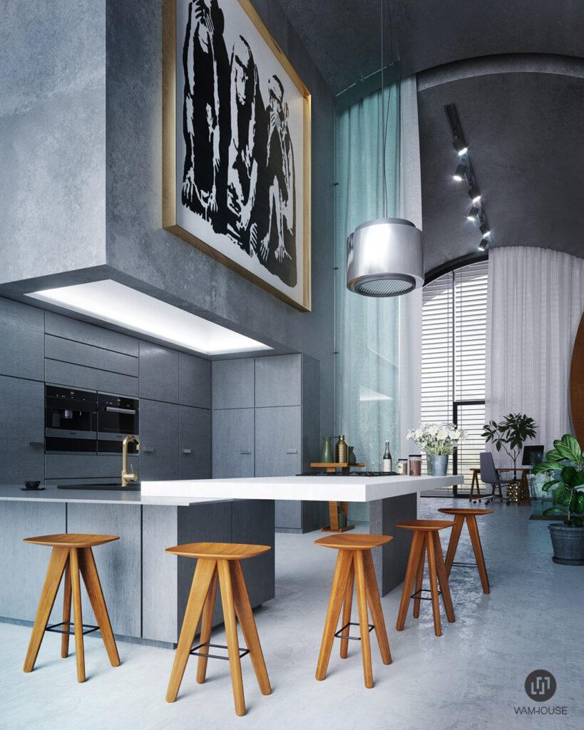 3- RINGSHOUSE – interior design (kitchen)