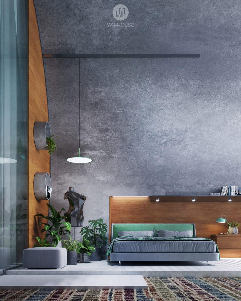 4- RINGSHOUSE – interior design (1st bedroom)