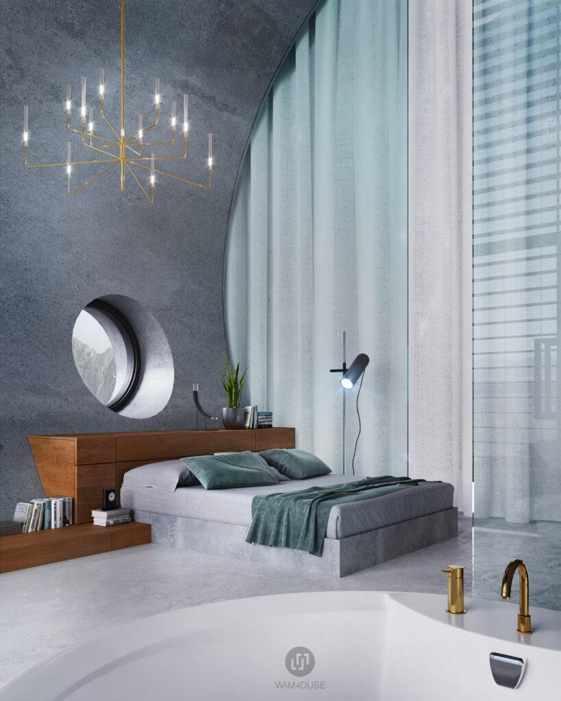 5- RINGSHOUSE – interior design (2nd bedroom)