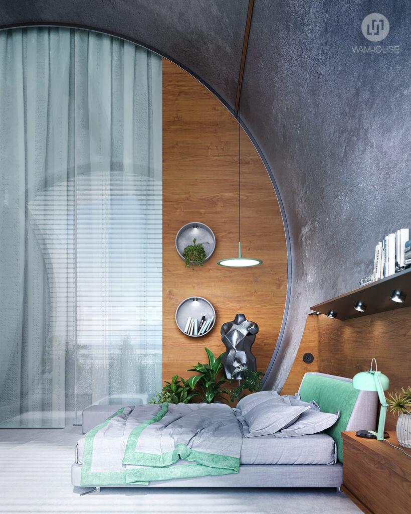 6- RINGSHOUSE – interior design (1st bedroom)