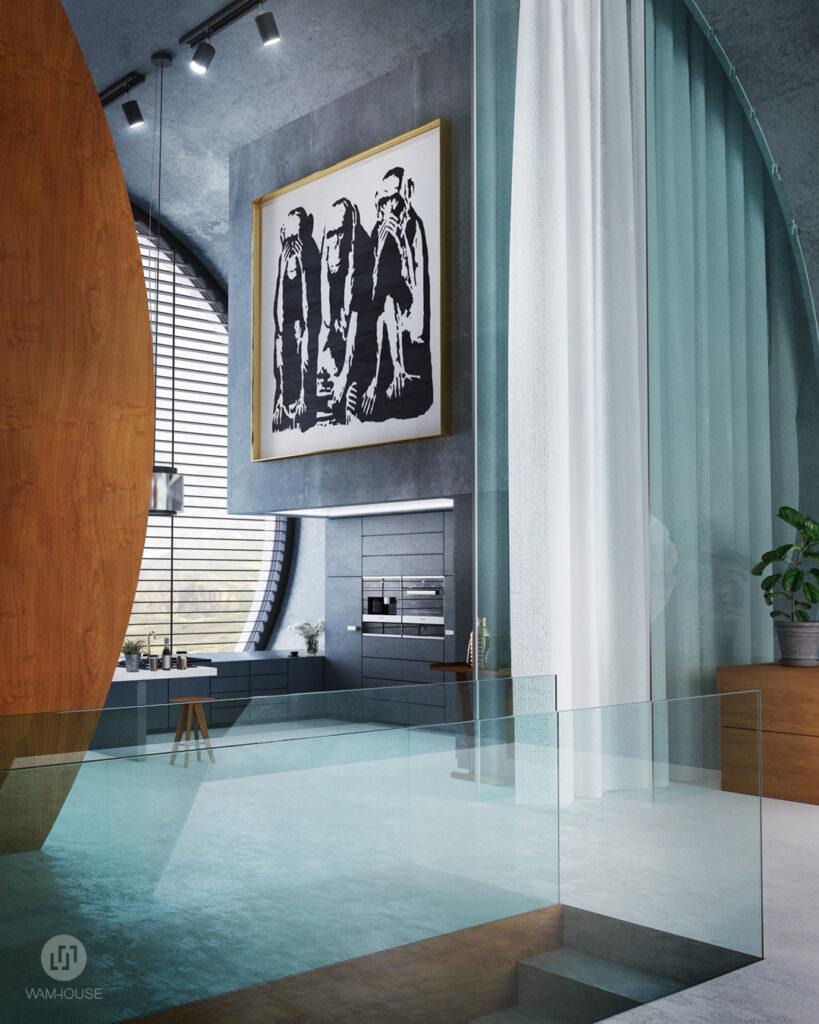 7- RINGSHOUSE – interior design (hallway/ kitchen)